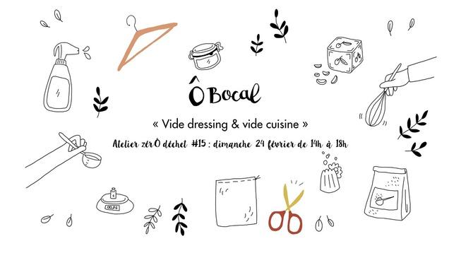 Atelier ZérÔ déchet #15 : Vide dressing & vide cuisine