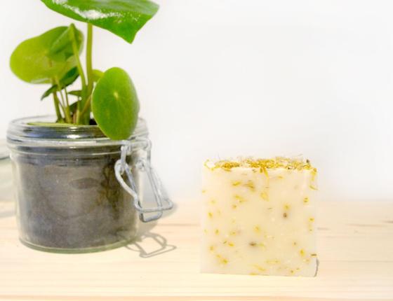 Savon artisanal Karité - Olive - Coco  local