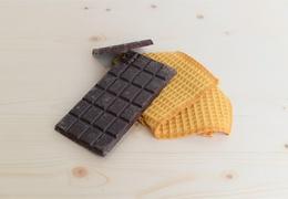 Tablette de chocolat noir bio aux framboises