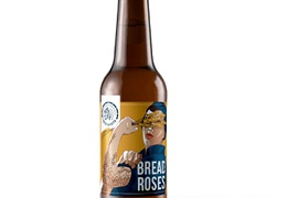 "Bière ""Bread and Roses"" 75cl bio & locale"