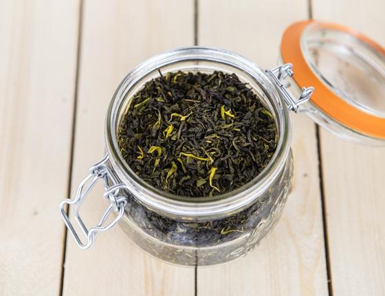 Thé vert aux 4 agrumes bio