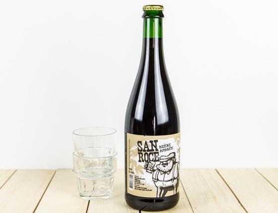 """Bière Brasserie San Roce """"ambrée"""" 75cl bio & locale"""