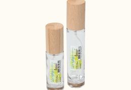 Flacon tube vaporisateur spray en verre transparent 50 ml