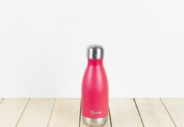 Bouteille inox 260 ml isotherme magenta