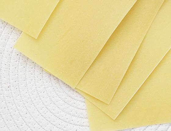 Pâtes à lasagne bio en plaques
