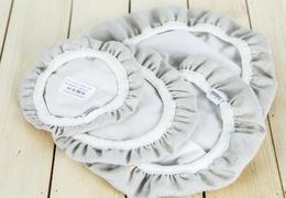 Couvre-plat en lin 18 cm