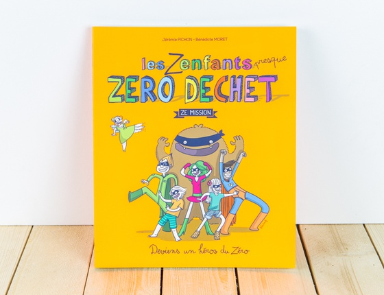 Livre « La Famille Presque Zéro Déchet - Les Zenfants »