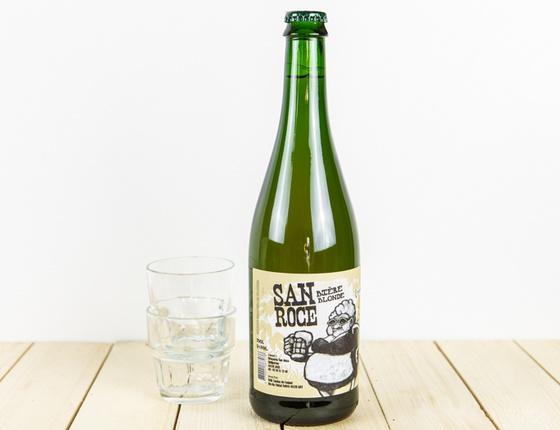 """Bière Brasserie San Roce """"de saison"""" 75cl bio & local"""