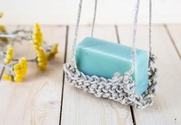 Porte-savon en chanvre artisanal & local