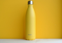 Bouteille inox 750 ml isotherme jaune pop