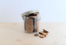 Spéculoos d'épeautre bio enrobé de chocolat