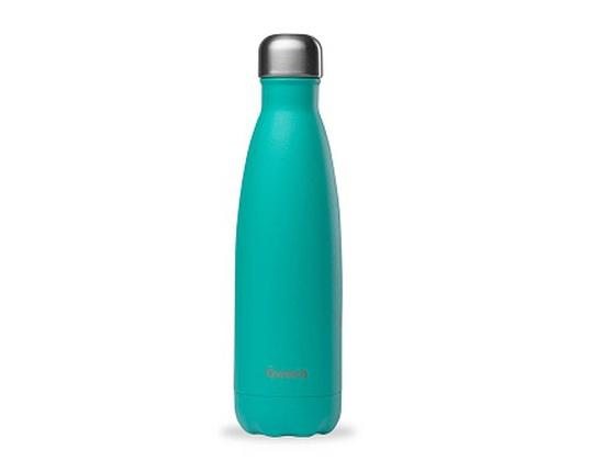 Bouteille inox 500 ml isotherme bleu lagon