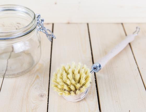Brosse vaisselle fibre