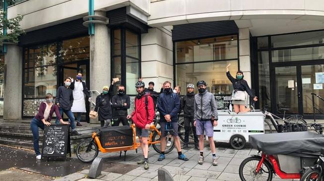 On livre maintenant vos commandes en ligne à vélo !