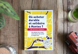 Livre guide « Où acheter durable et solidaire à Nantes ?»