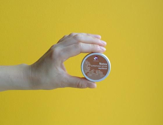 Shampooing solide Pachamamaï Notox & sa boîte
