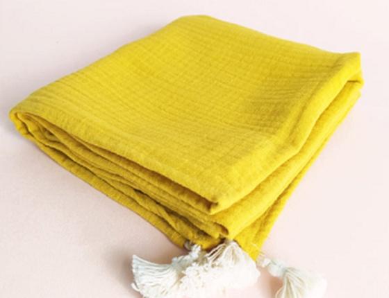 Lange jaune ocre
