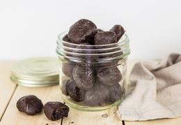 Pruneaux d'Agen enrobés de chocolat bio