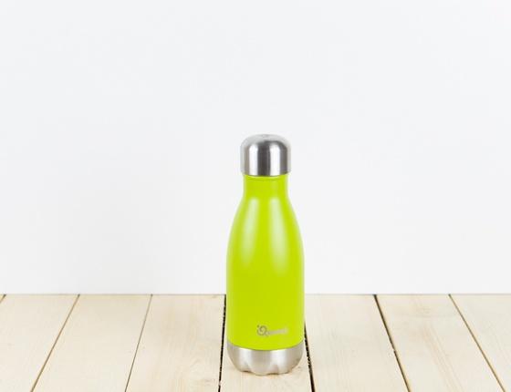Bouteille inox 260ml couleur vert anis
