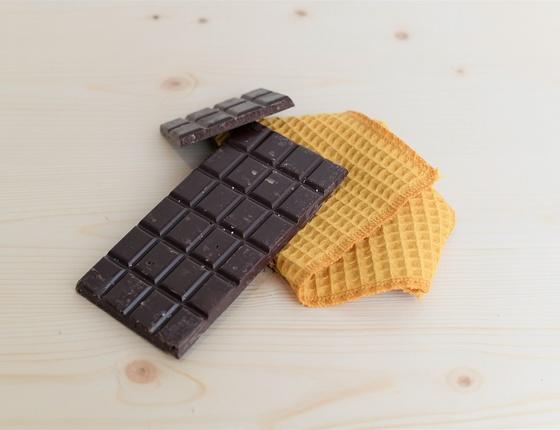 Tablette de chocolat noir bio au gingembre