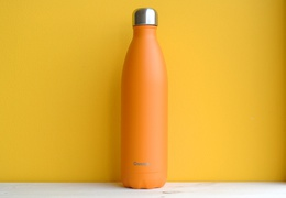 Bouteille inox 750 ml isotherme orange pop