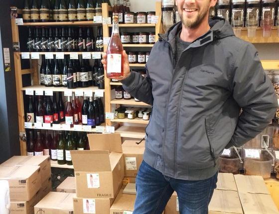"""Vin Domaine Hervé Bossé blanc pétillant """"Désabulle-moi !"""" naturel & local"""
