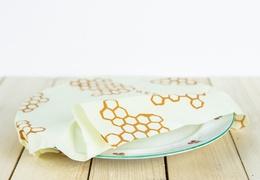 Emballage à la cire d'abeille : taille L