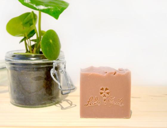 Savon artisanal Argan - Argile rose local