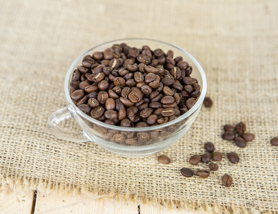 Café décaféiné de Colombie en grains