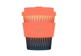 Tasse à café en bambou 250 ml motif orange