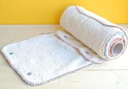 Rouleau de 10 feuilles d'essuie-tout lavables