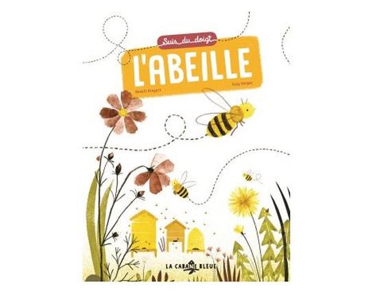 Livre « Suis du doigt l'abeille »