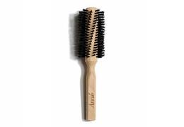 Brosse à cheveux ronde en poils de sanglier