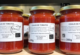 Coulis de tomates bio & local