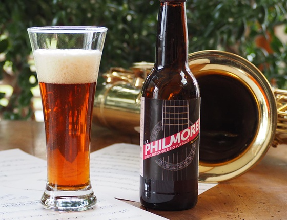 """Bière Brasserie Philmore rousse """"Fa#"""" 75cl bio & locale"""