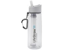 Gourde filtrante LifeStraw transparente