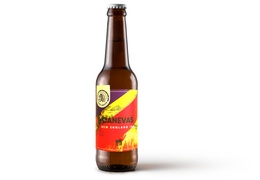 "Bière Brasserie Tête Haute ""Canevas"" 33cl bio & locale"