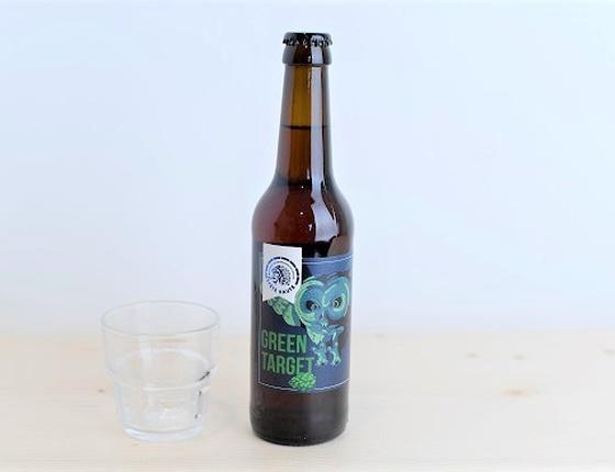 "Bière Brasserie Tête Haute IPA ""Green Target"" 33cl bio & locale"