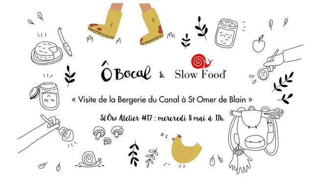 SlÔw Atelier #17 : Visite de la Bergerie du Canal