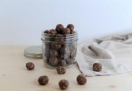 Energy balls bio beurre de cacahuète-choco