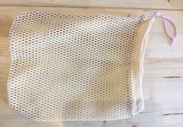 Filet de lavage en coton bio