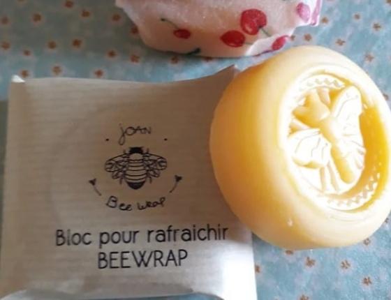 Bloc de cire prêt à l'emploi pour emballage - bee's wrap
