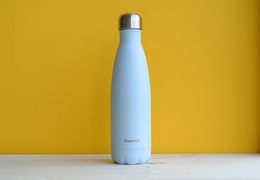 Bouteille inox 500 ml isotherme bleu pastel