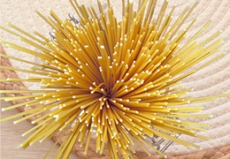 Pâtes spaghettis semi-complets bio