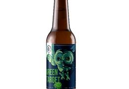 "Bière IPA ""Green Target"" 75cl bio & locale"