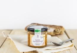 """Tartinade bio & locale 100% végétale """"Carotte à la Citronnelle"""""""