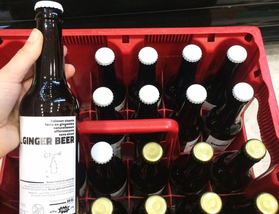 Ginger beer 33cl locale