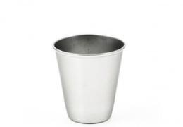 Gobelet inox simple paroi 75 ml