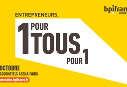 Intervention au Salon BPI France Inno Génération