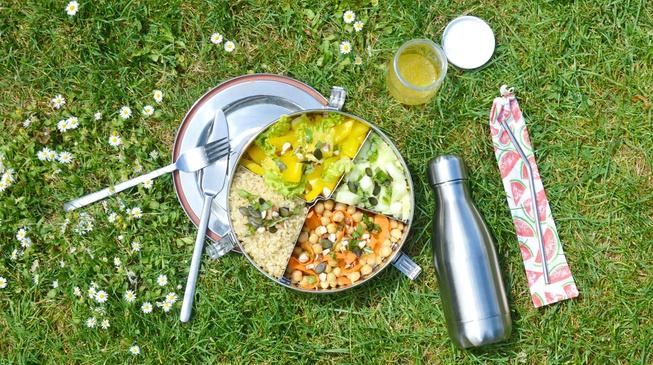 Taboulé de quinoa protéiné